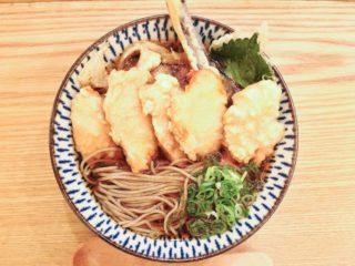 浅草橋百蕎麦 名物鶏天蕎麦